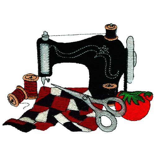 Sewing machine and quilt embroidery design annthegran