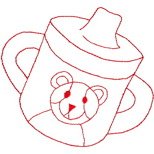 Sippy Cup Embroidery Design Foods Designs AnnTheGran