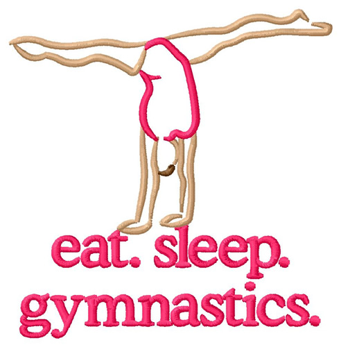 Gymnastics Embroidery Designs Free