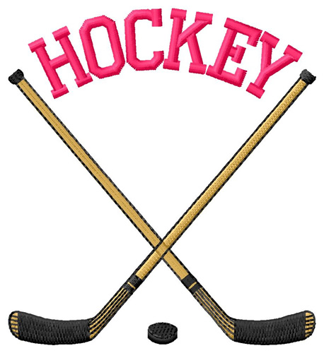 hockey cross sticks embroidery design annthegran hockey stick clip art canada hockey stick clipart sideways