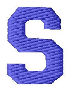 Sport letter s embroidery design annthegran altavistaventures Choice Image