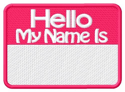name tag embroidery design annthegran