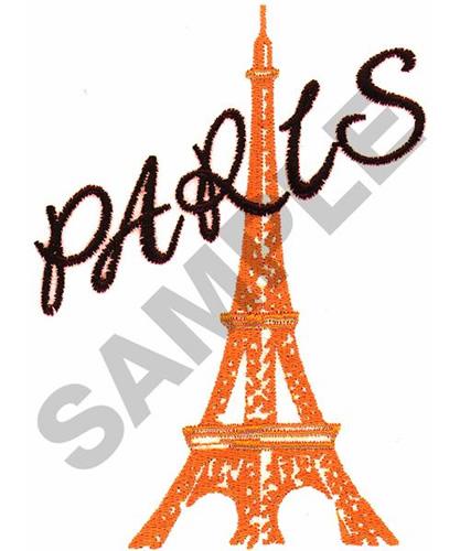 Paris Eiffel Tower Embroidery Design Annthegran
