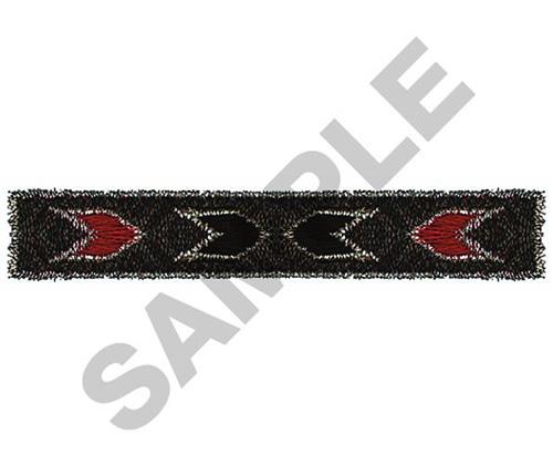 NAVAJO RECTANGLE BORDER Embroidery Design  R