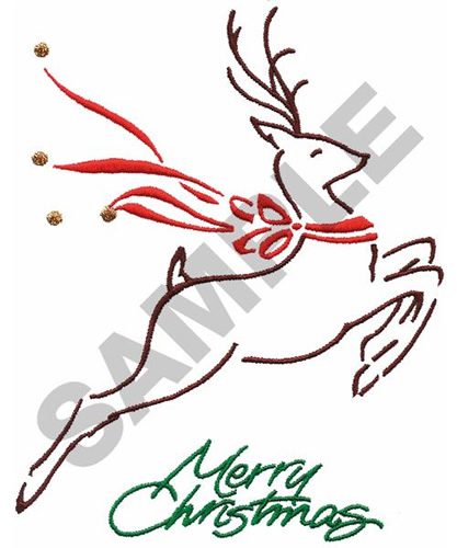 christmas reindeer embroidery design annthegran