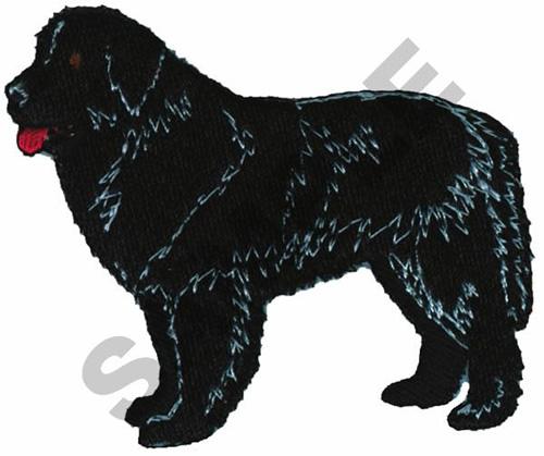 Newfoundland Dog Embroidery Designs