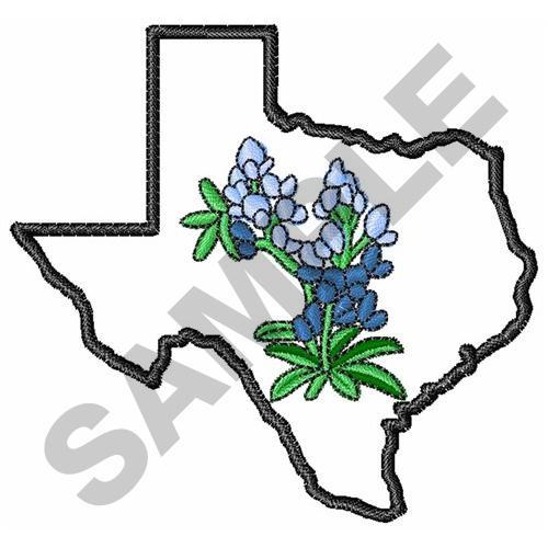texas bluebonnets embroidery design annthegran rh annthegran com Bluebonnet Flower Clip Art Bluebonnet Border Clip Art