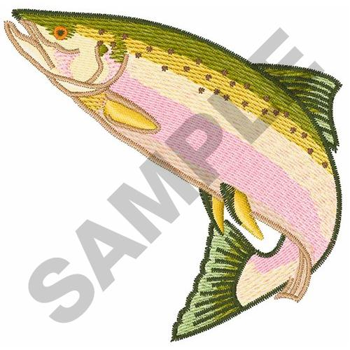 Salmon Fish Embroidery Design Annthegran
