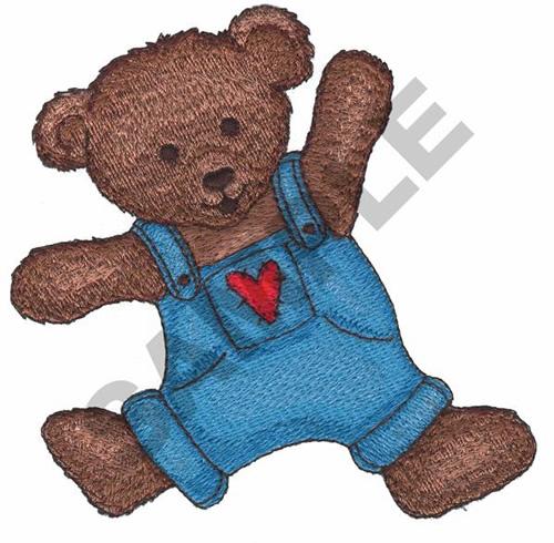 Teddy Bear Applique Embroidery Designs