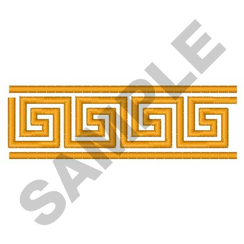 Greek Key Border Embroidery Design Annthegran