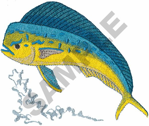 Dolphin Fish Embroidery Design Annthegran