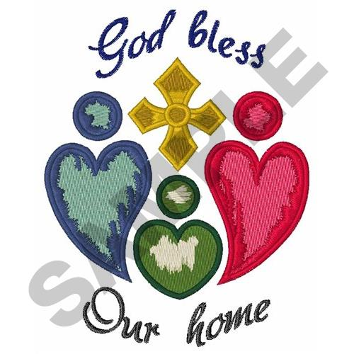 God Bless Our Home Embroidery Design on home pottery designs, home cooking designs, home machine quilting designs, home sewing room designs, home construction designs, home cross stitch designs, home vinyl designs, home glass designs, home entertainment designs, home wedding designs, home painting designs, home furniture designs, home embroidery projects, home jewelry designs, home embroidery digitizing software, home embroidery machines, home art designs, home embroidery business, home wood designs, home screen print designs,