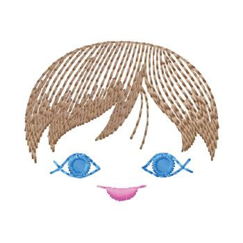 Doll Face Embroidery Design Annthegran