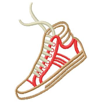 Tennis Shoe Embroidery Designs