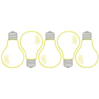 light bulb border embroidery design annthegran