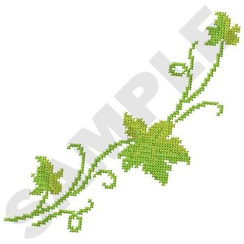 Cross stitch vine embroidery design annthegran
