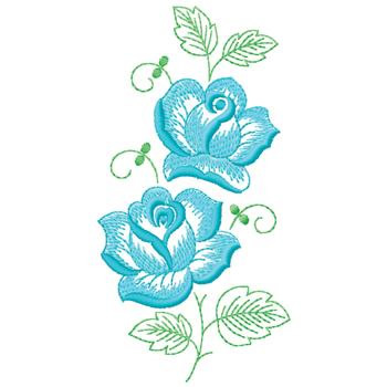 Roses Embroidery Design | AnnTheGran
