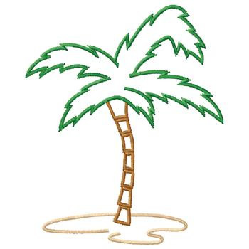 palm tree outlines