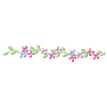 Floral Border Embroidery Design | AnnTheGran