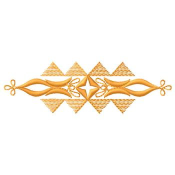 Geometric Border Embroidery Design Annthegran