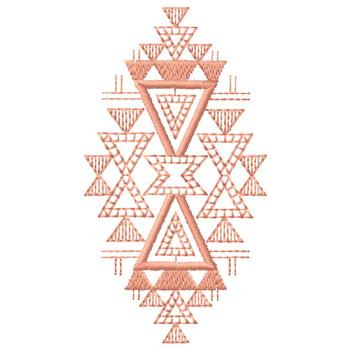geometric design embroidery design annthegran