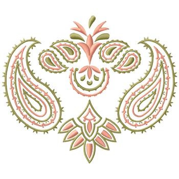 Paisley Design Embroidery Design Annthegran