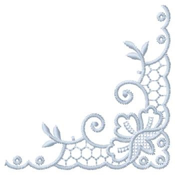 Corner Border Design Embroidery Design Annthegran