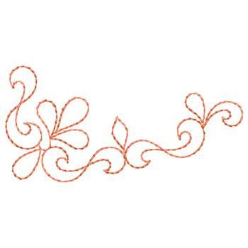 scroll outline border embroidery design annthegran