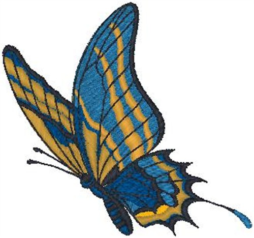 Butterfly Embroidery Design  Bugs Embroidery Designs