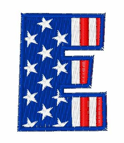 26c771c94f0 Star Spangled E Embroidery Design