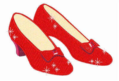 Dorothy Red Shoes Yellow Brick Road
