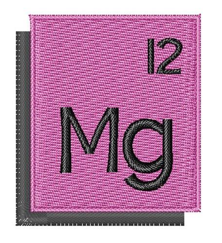 Periodic table magnesium embroidery design annthegran urtaz Image collections