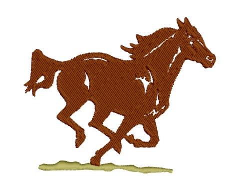 running horse embroidery design annthegran