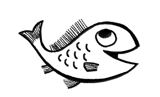 Fish Embroidery Designs
