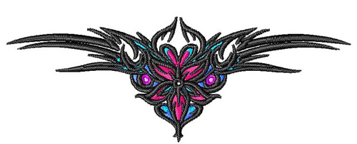 Tramp Stamp Tattoo Embroidery Design