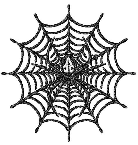 Spider Web Embroidery Design Annthegran