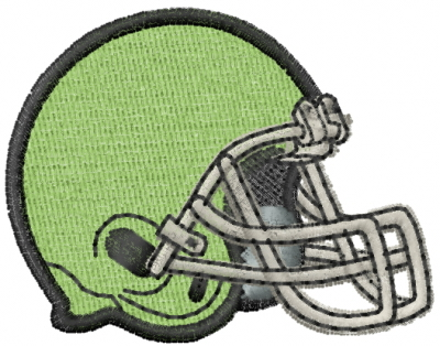 Football Helmet Embroidery Design Annthegran