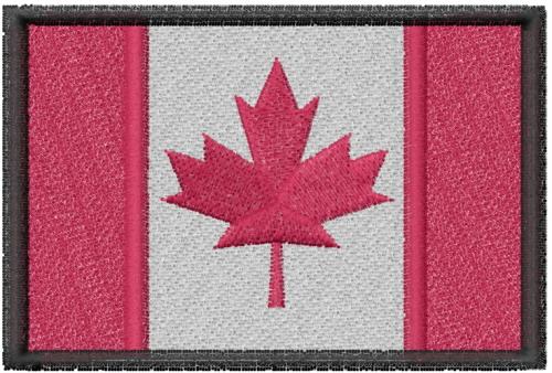 Canada Flag Embroidery Design | AnnTheGran