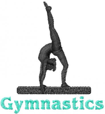 Gymnastics Embroidery Designs Free