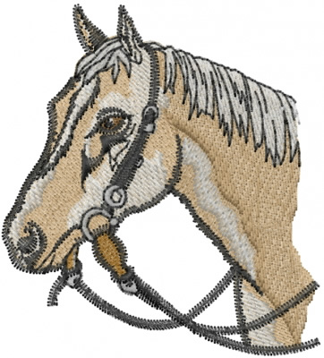 Horse Head Embroidery Design  Horses Embroidery Designs