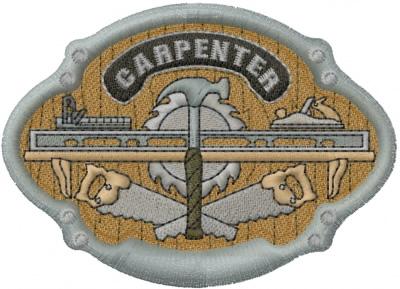 Carpenter Design Embroidery Design Annthegran