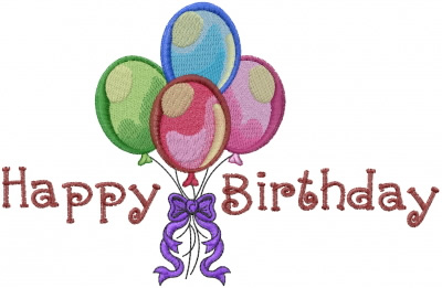 happy birthday embroidery design annthegran