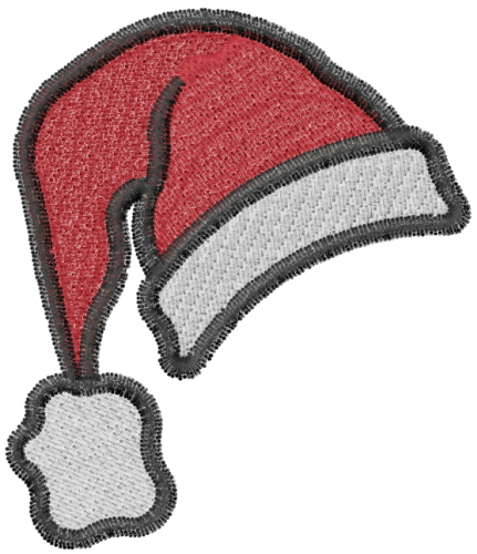 Santa hat embroidery design annthegran