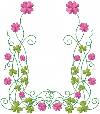 Flower Frame Embroidery Design | AnnTheGran