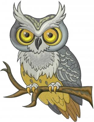 Owl Embroidery Design Annthegran