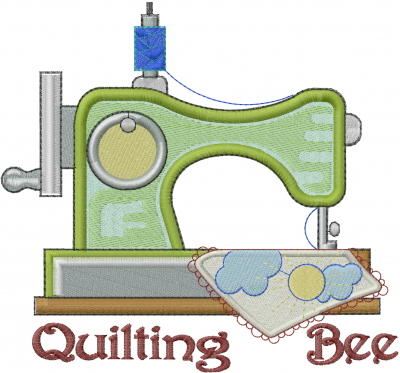 Quilting Bee Embroidery Design AnnTheGran