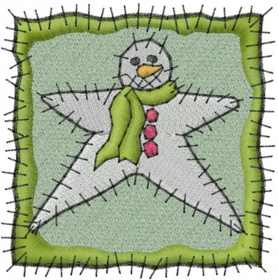 Star Quilt Embroidery Design : Snow Star Quilt Embroidery Design AnnTheGran