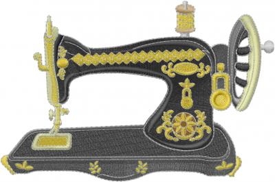 Vintage Sewing Machine Embroidery Design Annthegran