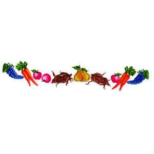 Vegetable Border Embroidery Design Annthegran