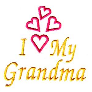 i love my grandma onesie